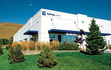 Het hoofdkantoor van Epilog Laser