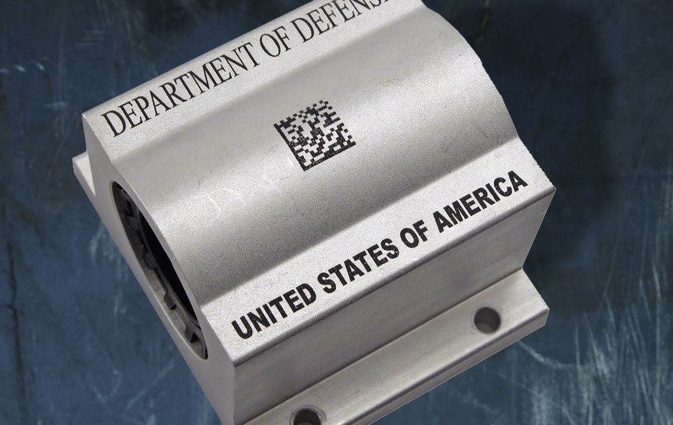 Barcode Engraving With A Laser System
