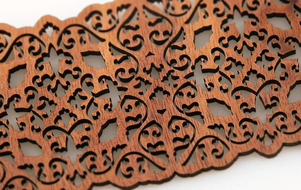 laser cutting wood laminate patterns