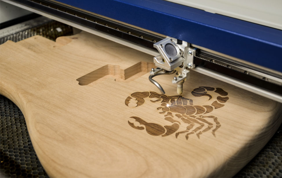 how to laser cut wood at home