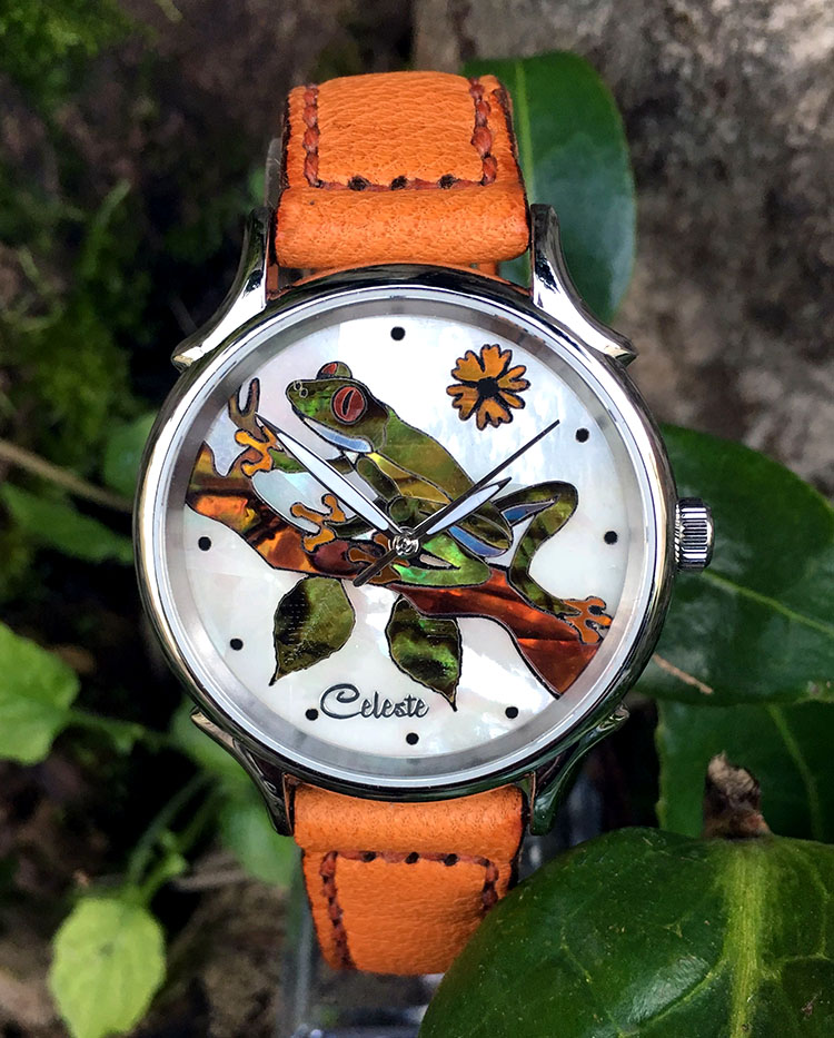 Treefrog Watch by Celeste Watch Company
