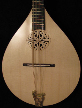 Laser cut mandolin.