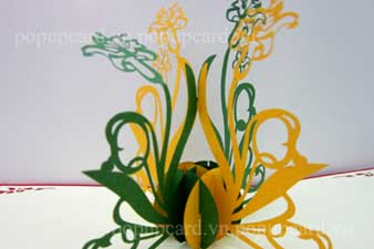 laser cut paper sculpture