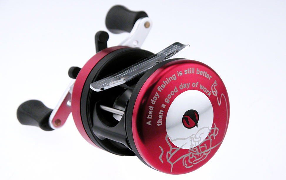 Laser Engraved Fishing Reel