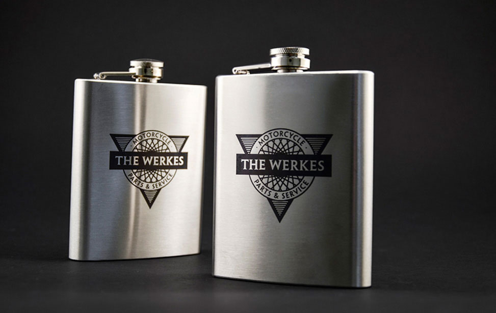 Stainless Steel Flasks Marked with CerMark