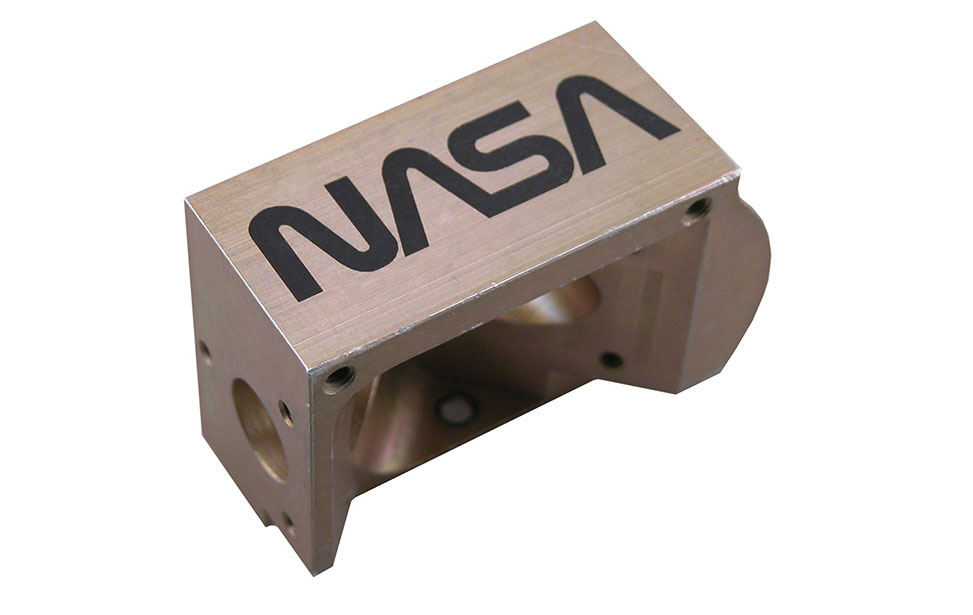 Nasa Part Marked with Cermark