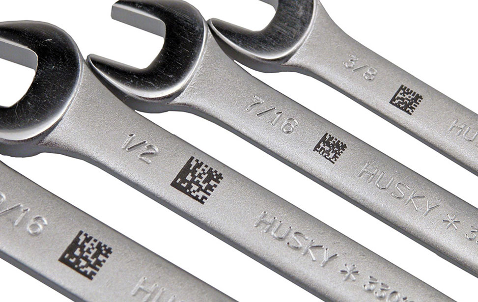 Wrenches Marked with CerMark
