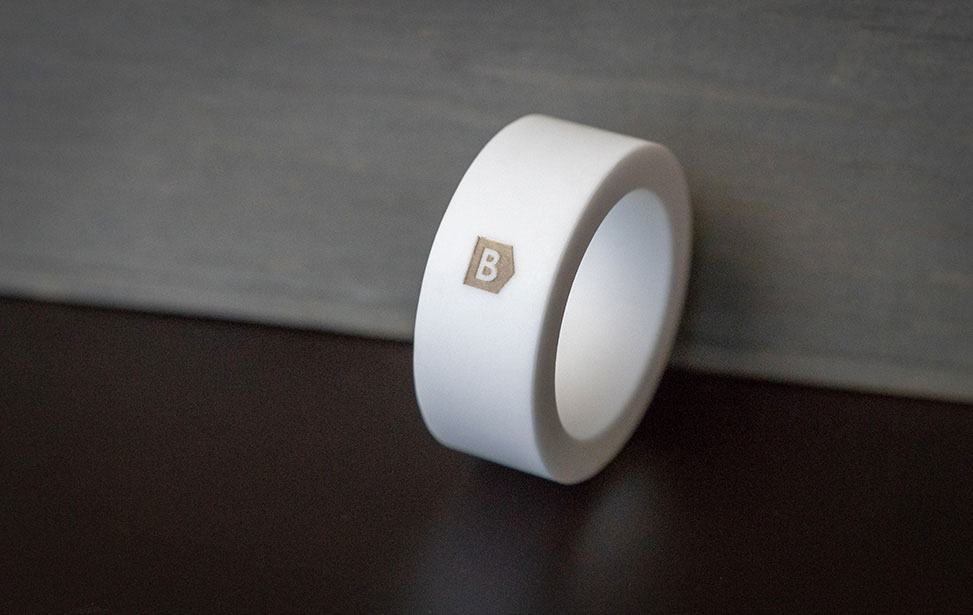 Laser Marked Ceramic Ring