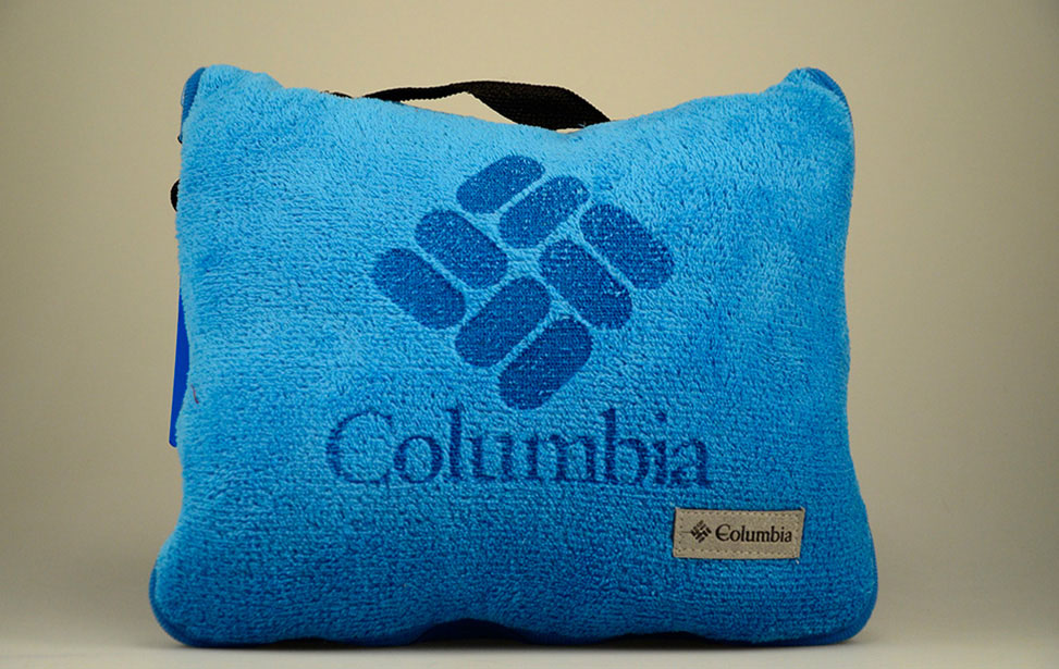 Laser Engraved Fabric Fleece Pillow