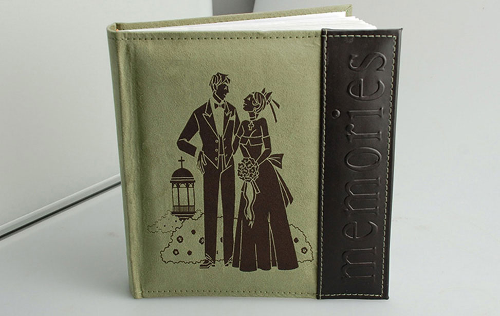 Laser Engraved Photo Book