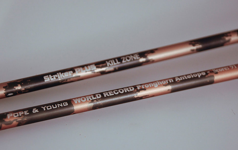 Enrgaved Arrow Shafts