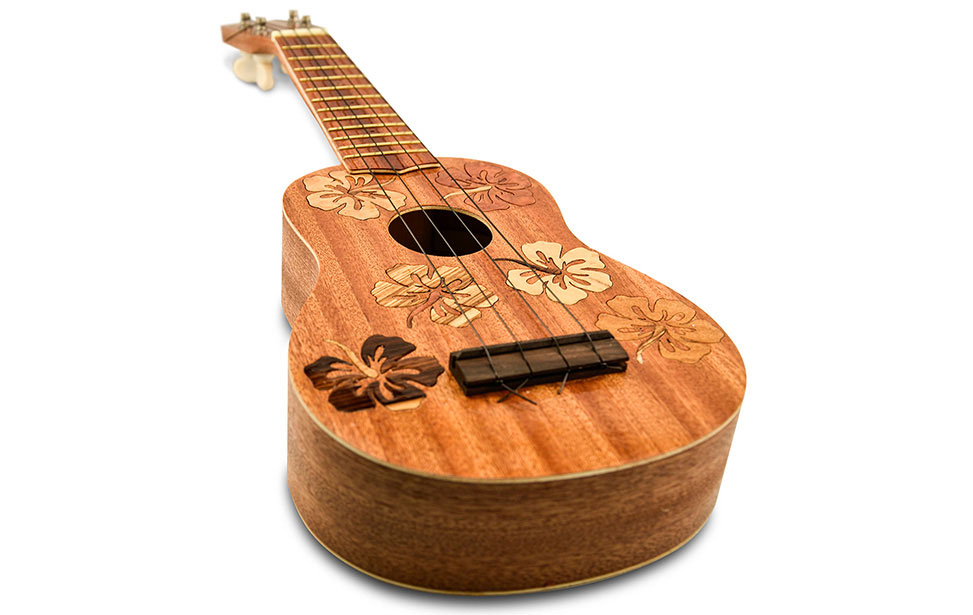Furnir inlayed ukulele