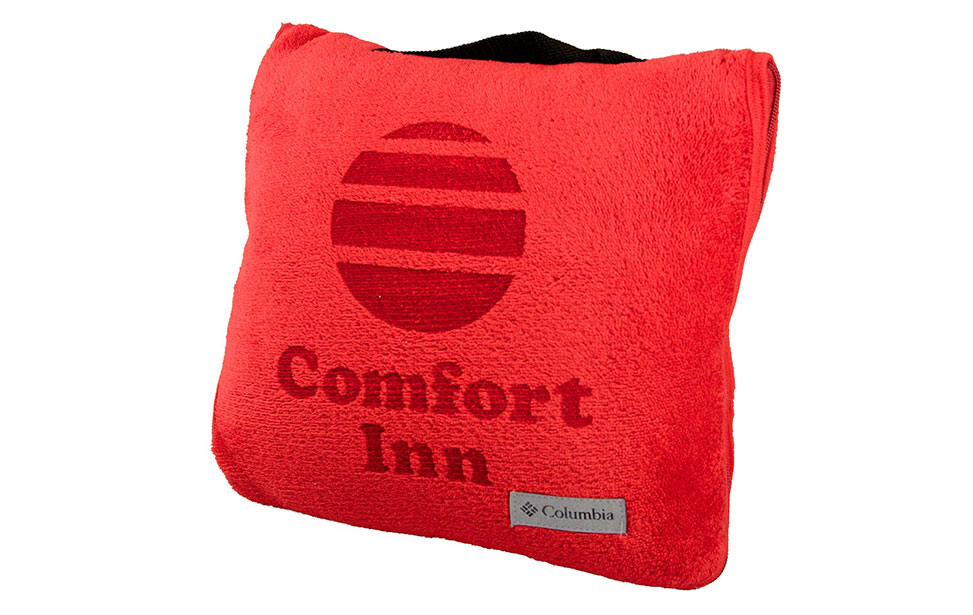Promotional products gift laser applications for laser for Comfort inn pillows