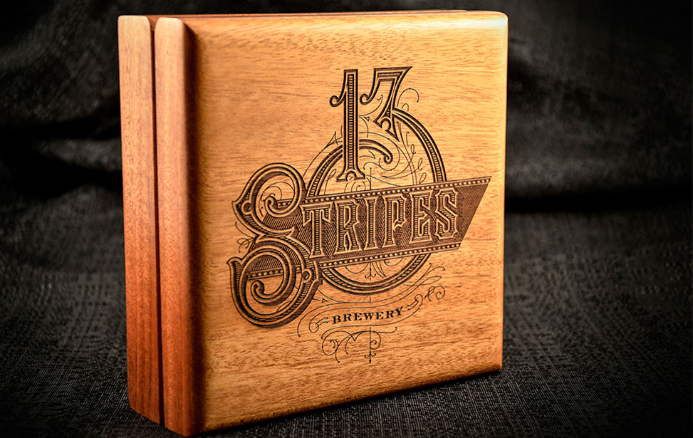 Laser Engraved Cigar Box