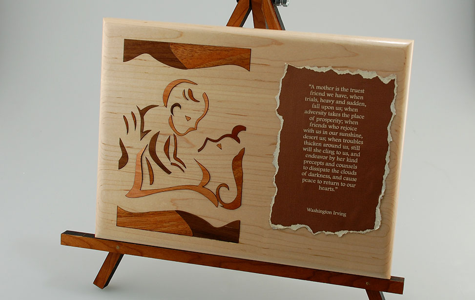 Beautiful Wood and Woodworking Laser Applications for Engravers and Cutters UM74