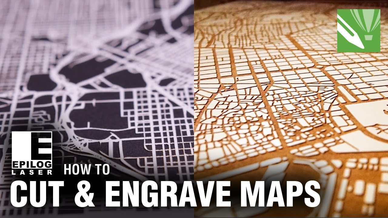 Laser Cutting Amp Engraving City Maps With Coreldraw