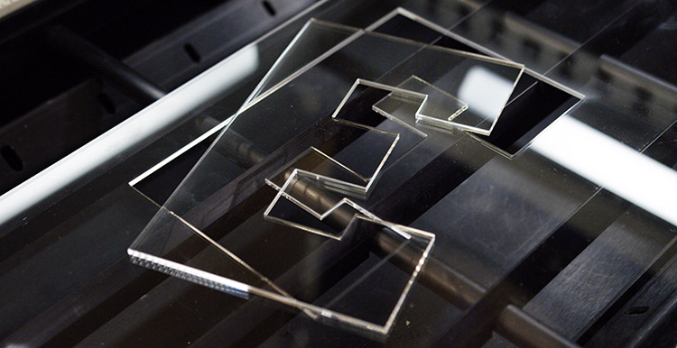 Laser cutting and engraving acrylic