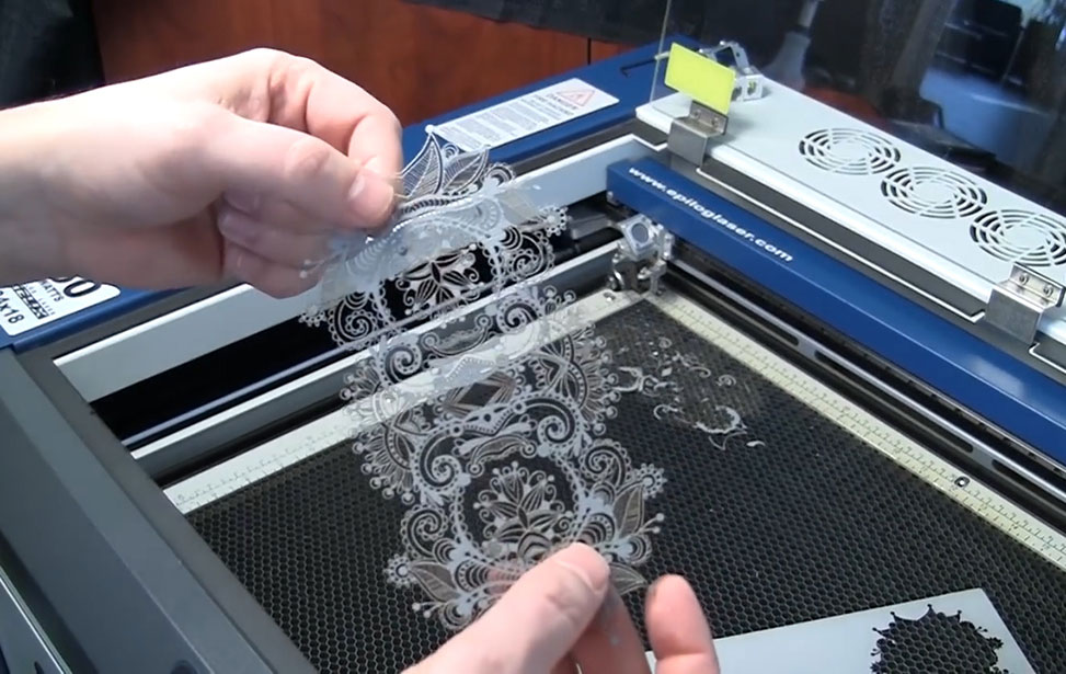 Laser Cutting Paper Video
