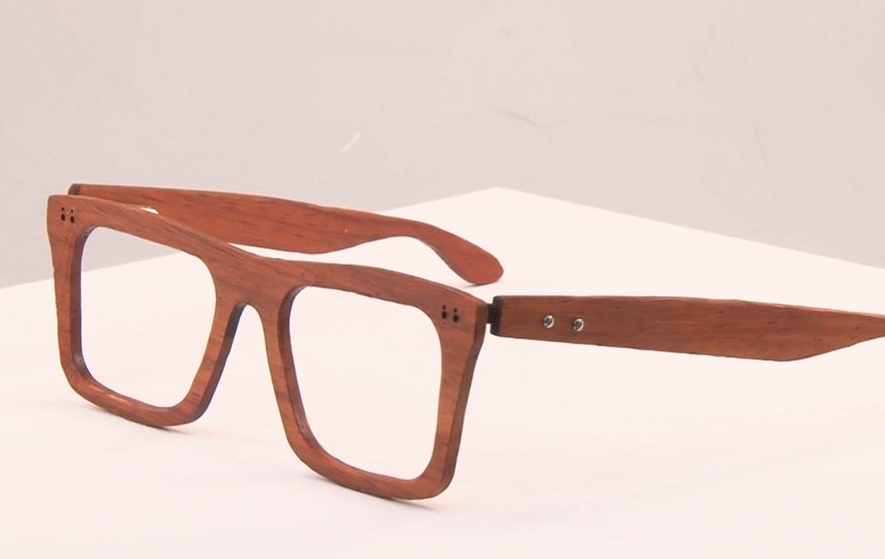 wood glasses