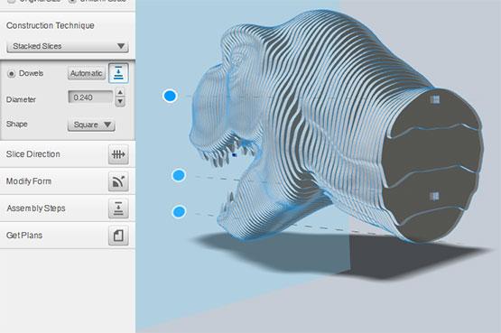 Laser 3d Model Making With 123d Make