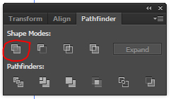 Select Unite Pathfinder Option