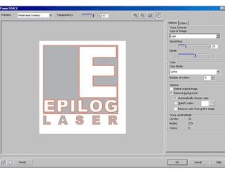 Tracing a Logo in CorelDRAW 13