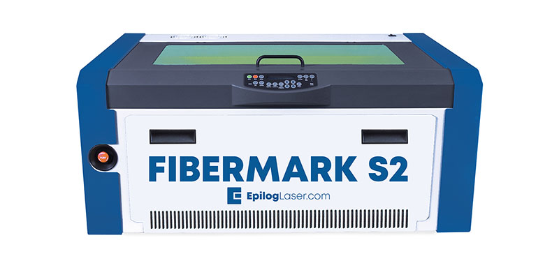 Macchinario laser per la marcatura di componenti industriali in metallo FiberMark