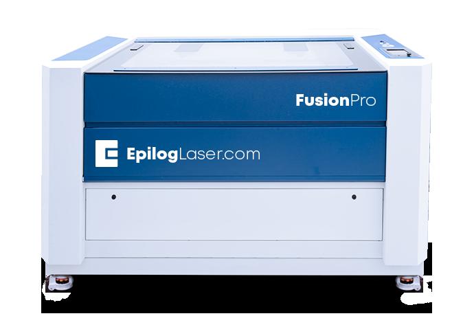 Máquina Fusion Pro de gravar, cortar e marcar a laser para empresas dedicadas à produção.