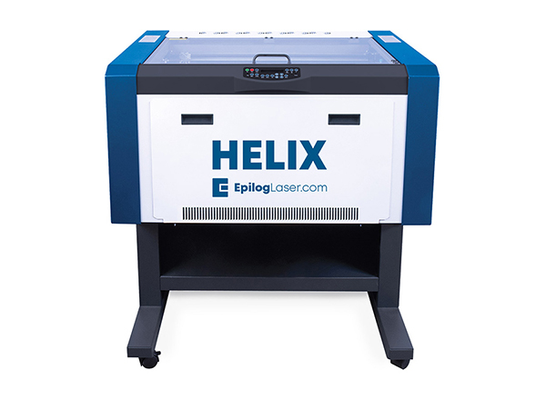 Machine laser helix