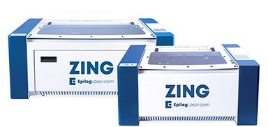 série de máquinas a laser zing