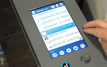Fusion Edge bedienen via touchscreen
