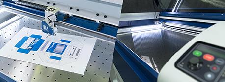 Lasersystemet Epilog Laser Fusion M2