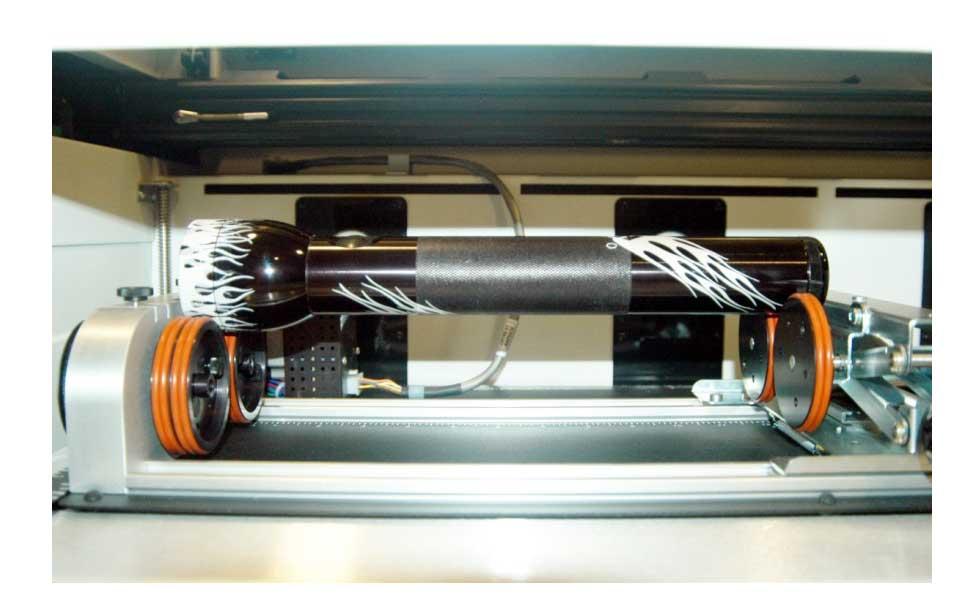 Met laser gegraveerde Mag Lite.