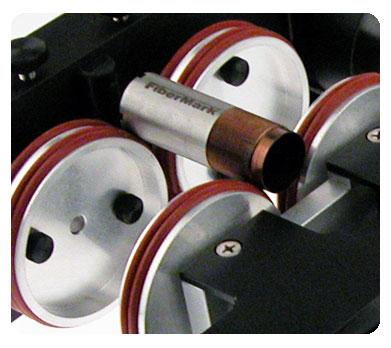 Fusion-Einspanndrehvorrichtung mit 3 Klemmen für Faserlaser