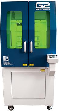 máquina láser galvo g2 de tipo de láser de fibra