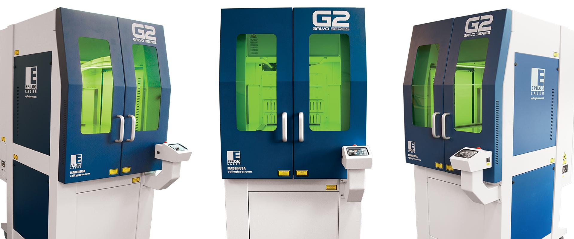 G2 Galvo Laser Series Metal Etching Laser Engraver