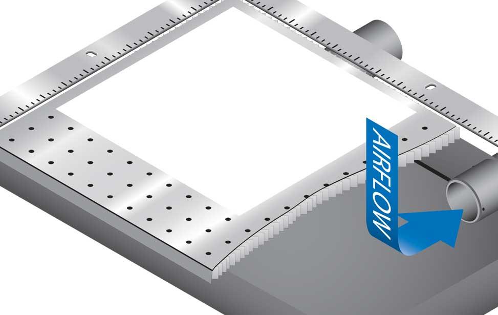 Mini Helix Vacuum Table