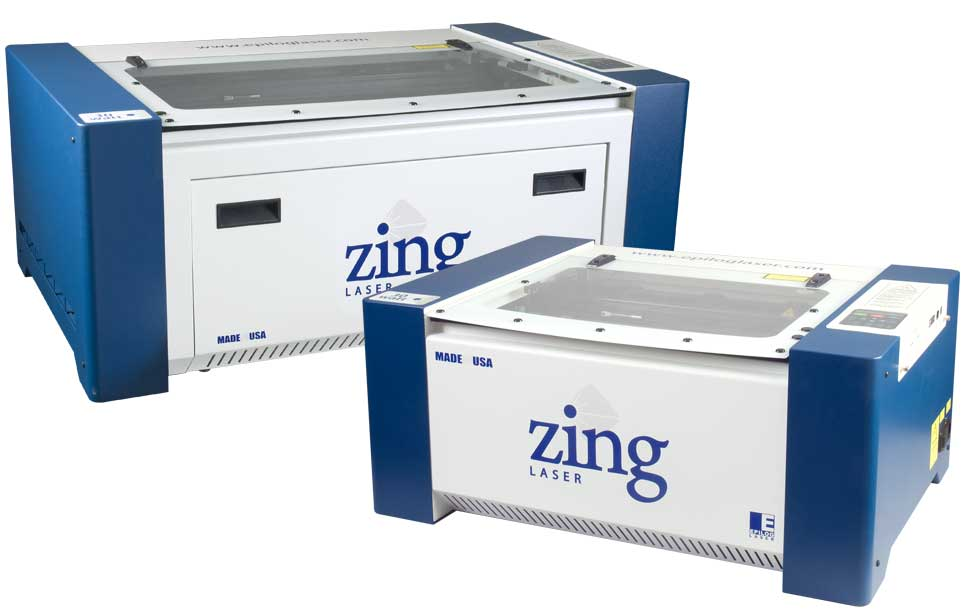 The Epilog Zing starter laser systems