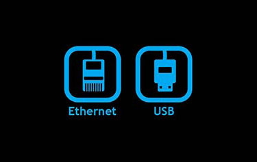 Ports Ethernet et USB