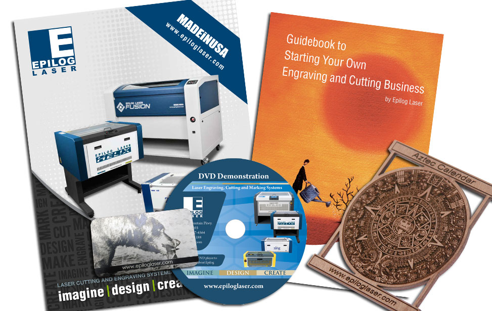brochures and samples