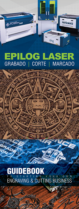 Brochure, Aztec Wood Engraving Sample, and Start your Own Business Guide