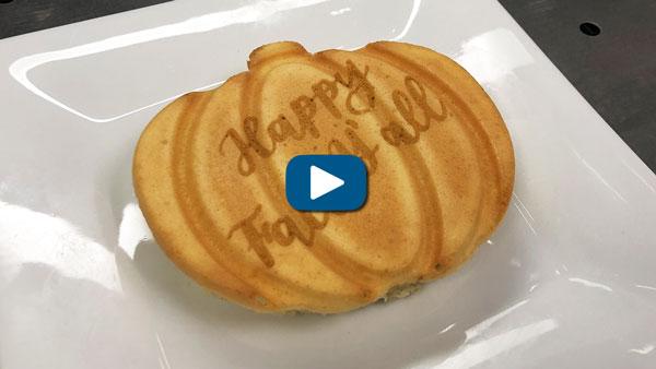 pumpkin pancake engraving laser it challenge