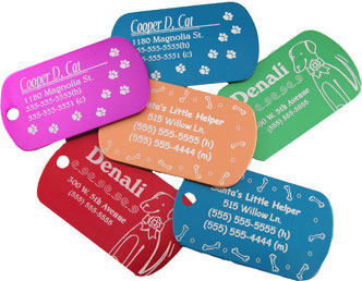 Custom Made Dog Tags With Picture