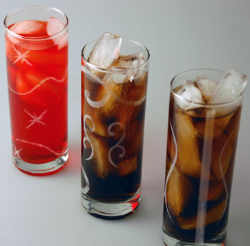 high ball glasses etched with a laser - Highball Glasses