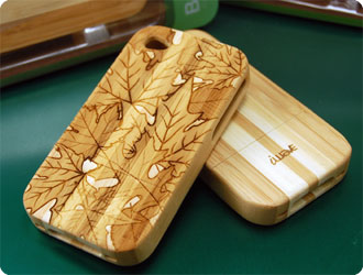 Laser Engraving Wood Iphone Cases