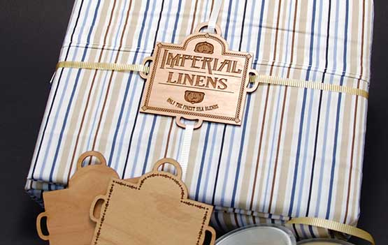 Create a Laser Cut Wooden Label