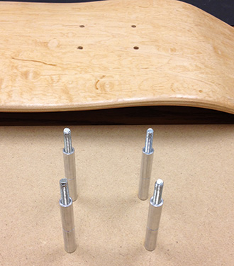 jig rod and barrel standoffs