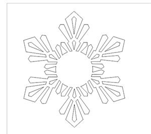 snowflake after weld