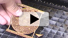 Laptop Laser Engraving Video