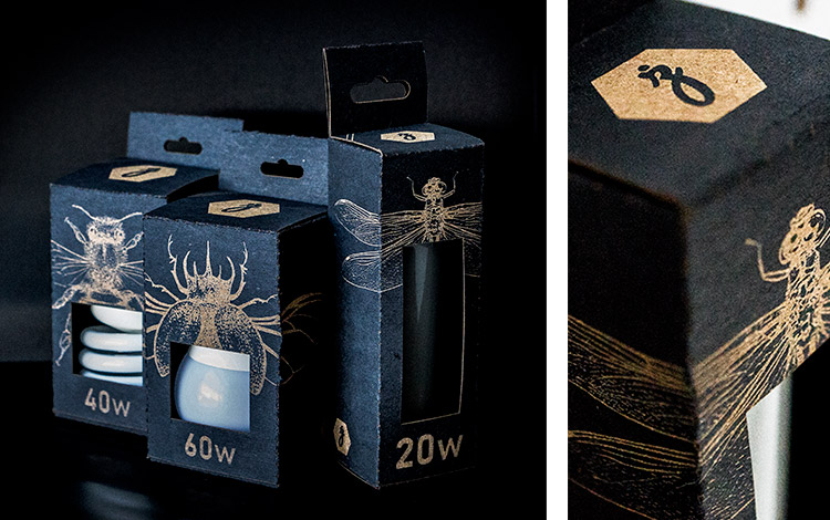 Collage of laser cut and engraved paper packaging images.